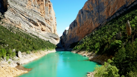 Ущелье Монт Ребей, Каталония