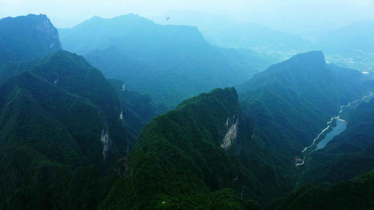 Гора Тяньмэнь: смотровые площадки