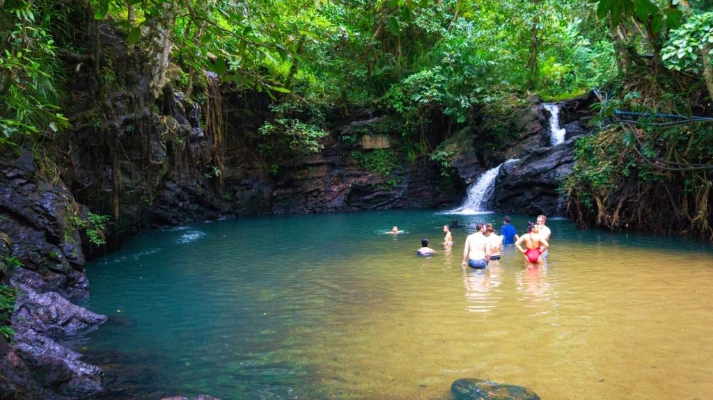 Водопад Concepcion Falls - Бусуанга