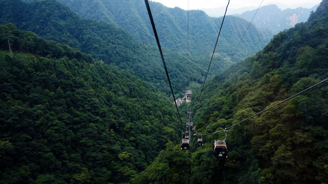 Национальный парк Чжанцзяцзе: Tianzi Mountain