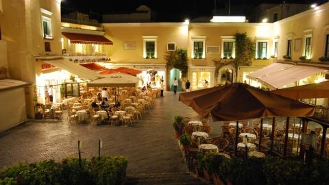 Остров Капри: Пьяцетта