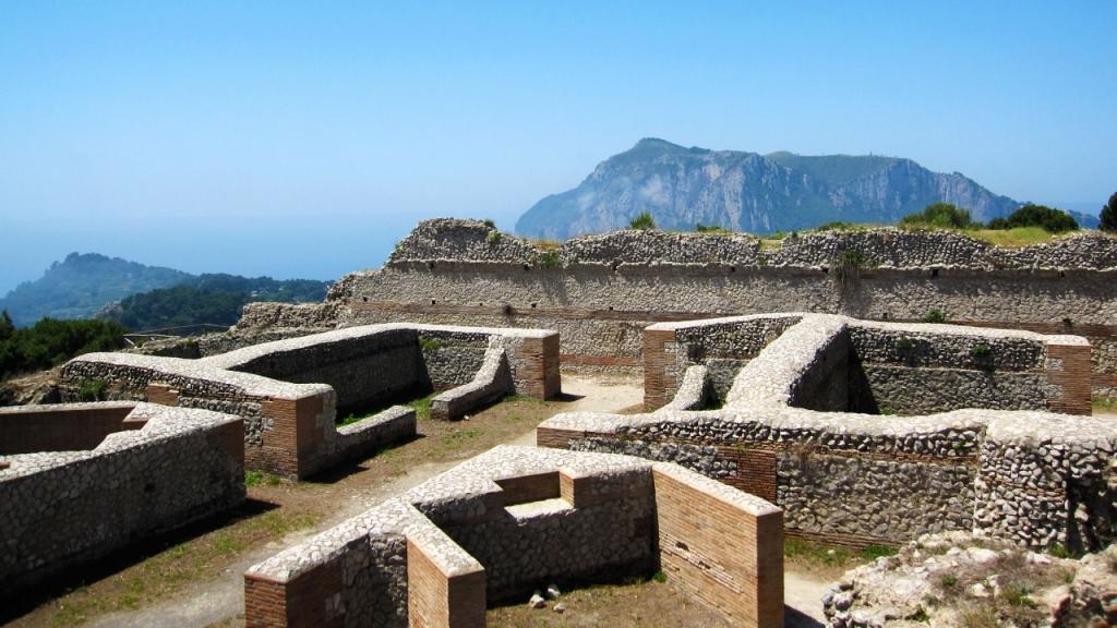 Остров Капри: вилла Jovis