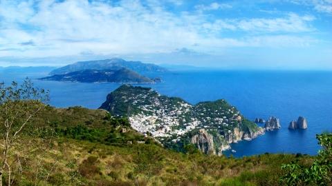 Остров Капри: вершина Monte Solaro