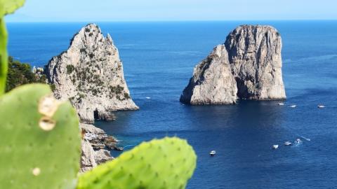 Остров Капри: сады Августа