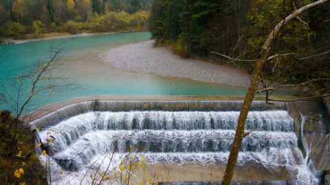 Водопад в Фюссене