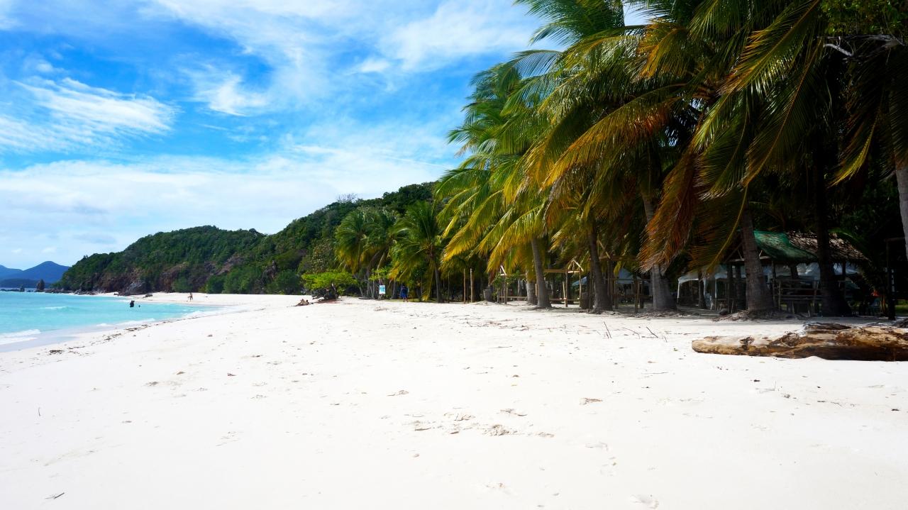Остров Malcapuya - Бусуанга