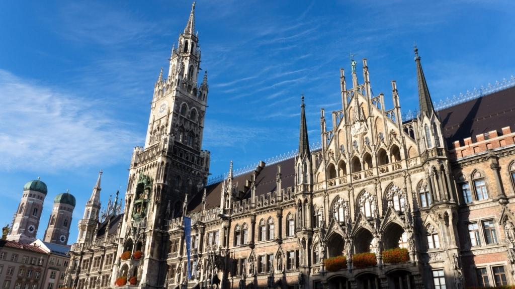 Мюнхен: новая Ратуша