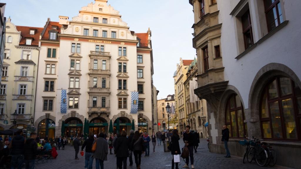 Мюнхен: улица Platzl