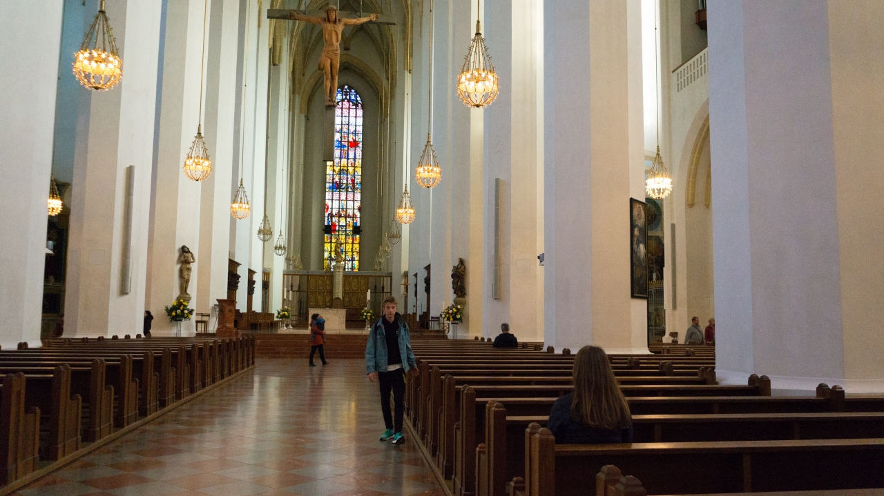 Мюнхен: Собор Фрауэнкирхе (Frauenkirche)