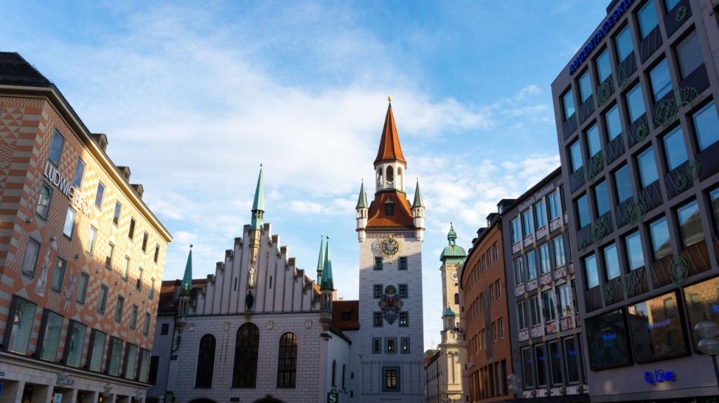 Мюнхен: старая Ратуша