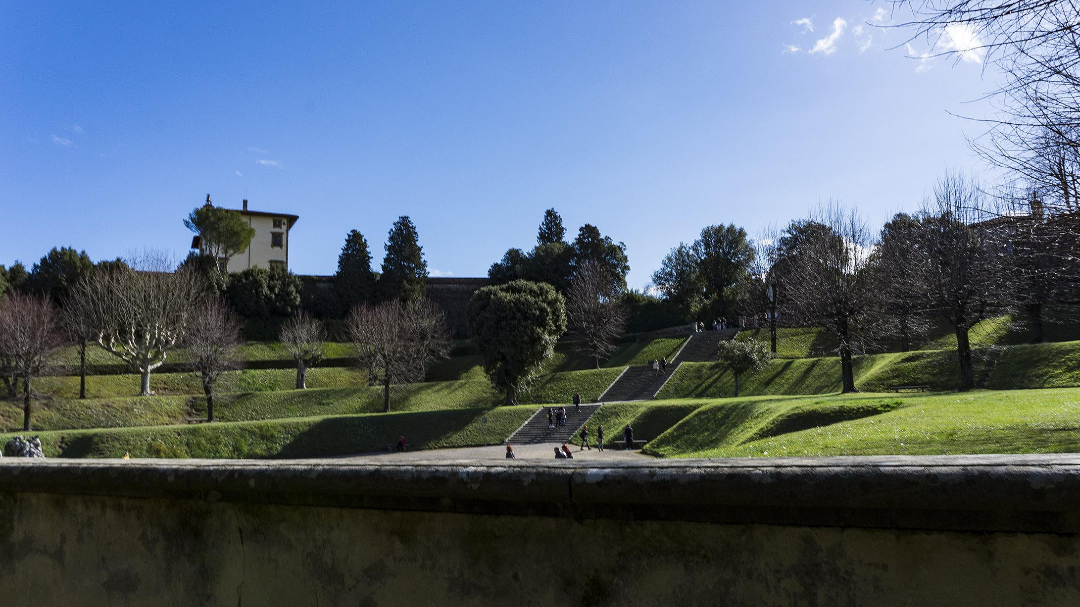 Достопримечательности Флоренции: сады Боболи