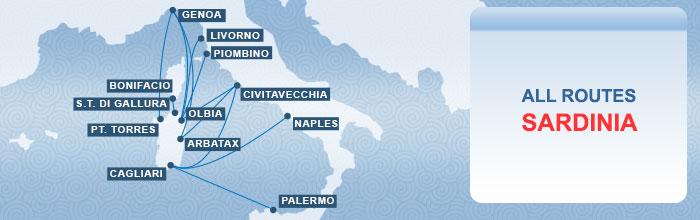 Как добраться до Сардинии: паромы