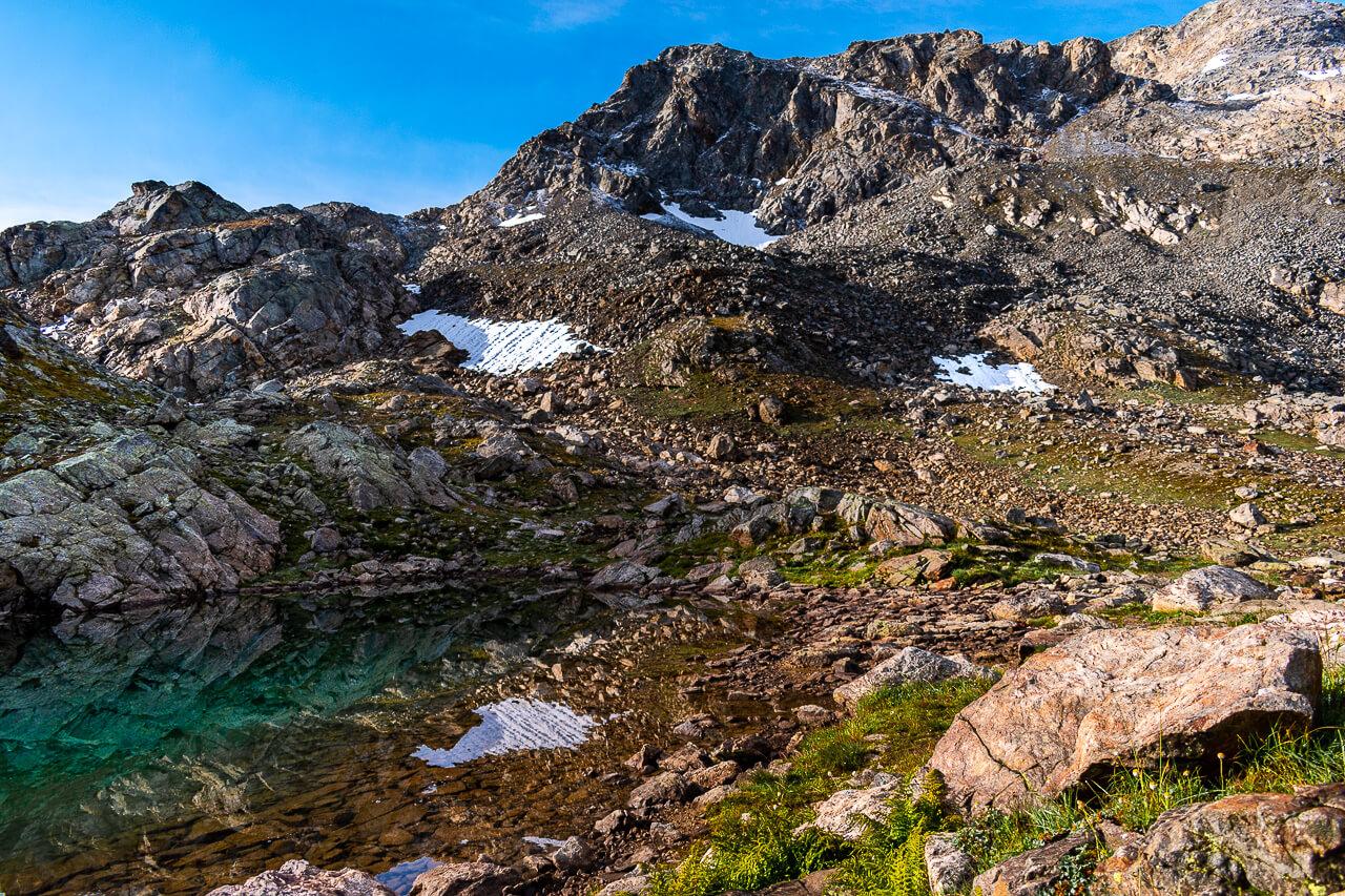 Озеро Верхняя Запятая, Архыз