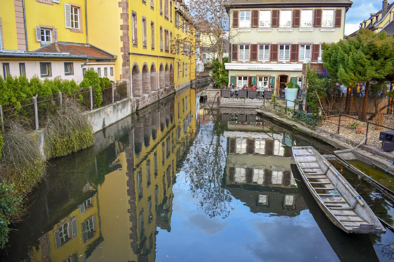 Кольмар, Франция: район маленькая Венеция