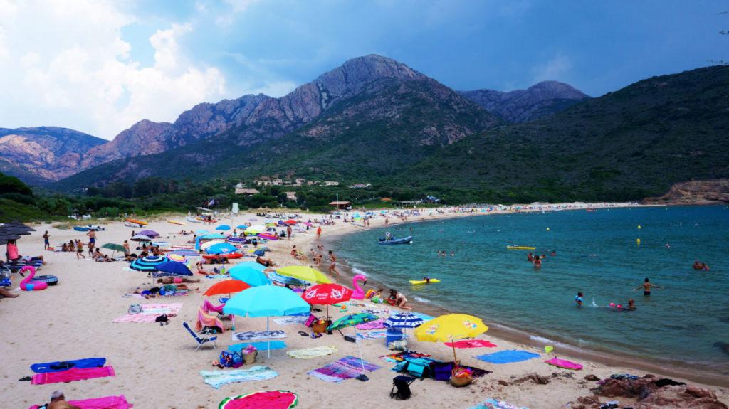 Остров Корсика: Пляж Plage d'arone