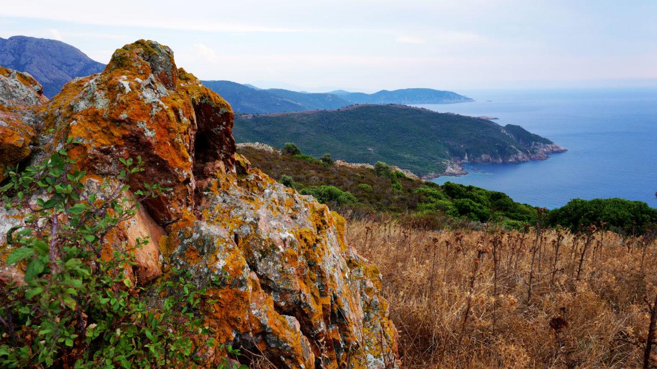 Остров Корсика: Мыс Kapo Rosso