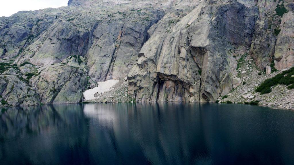 Остров Корсика: озеро Capitello