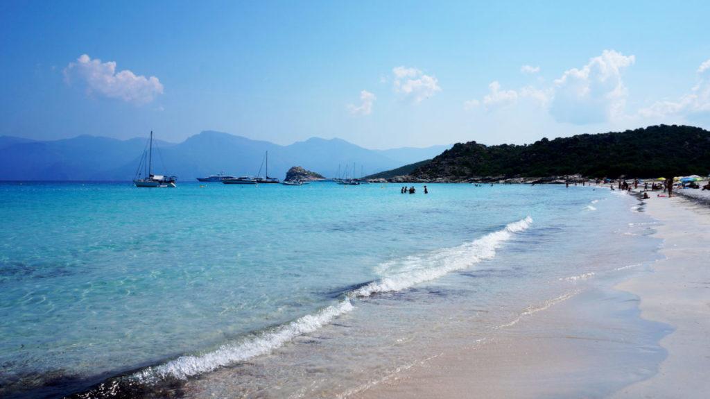 Остров Корсика: пляж Plage du Lotu
