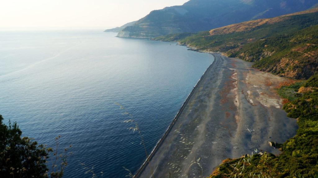 Остров Корсика: пляж Нонза