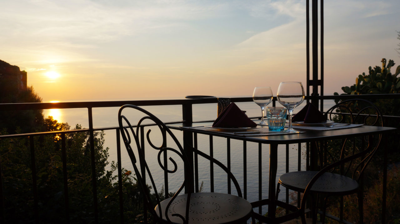 Остров Корсика: ресторан La Sassa