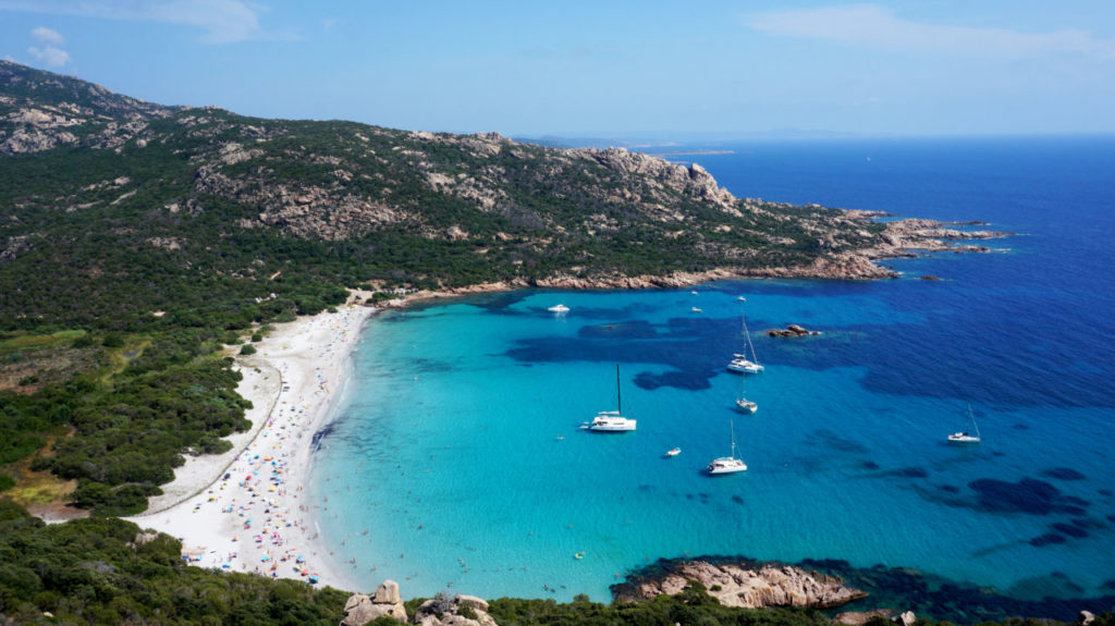 Остров Корсика: пляж Roccapina