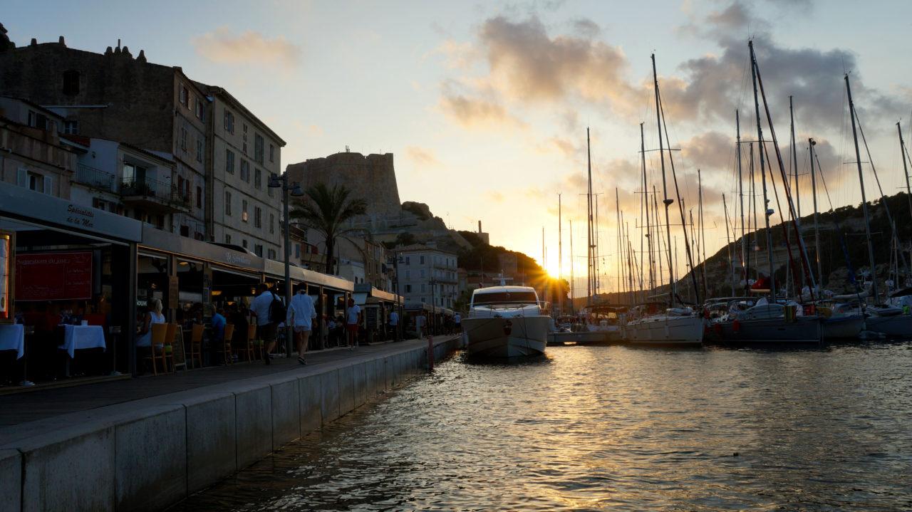 Остров Корсика: город Бонифаччо
