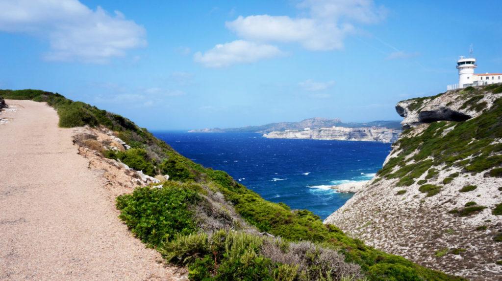 Остров Корсика: маяк Pertusato