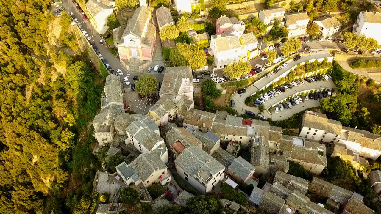 Остров Корсика: город Нонза