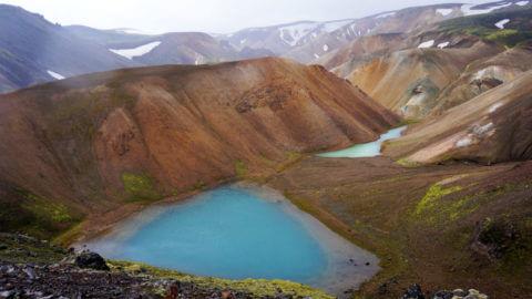 Ландманналаугар, Исландия