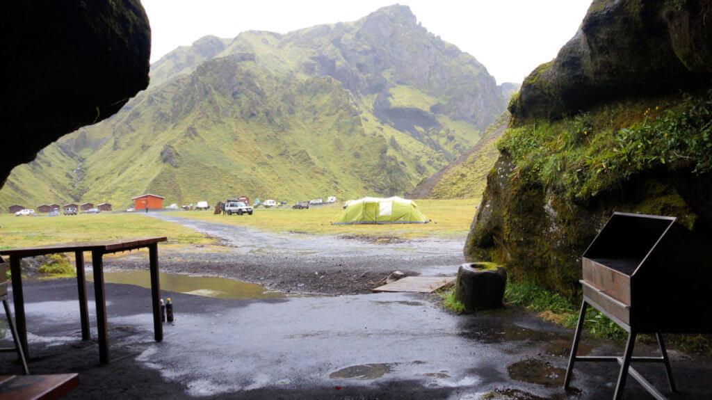 Кемпинг Þakgil