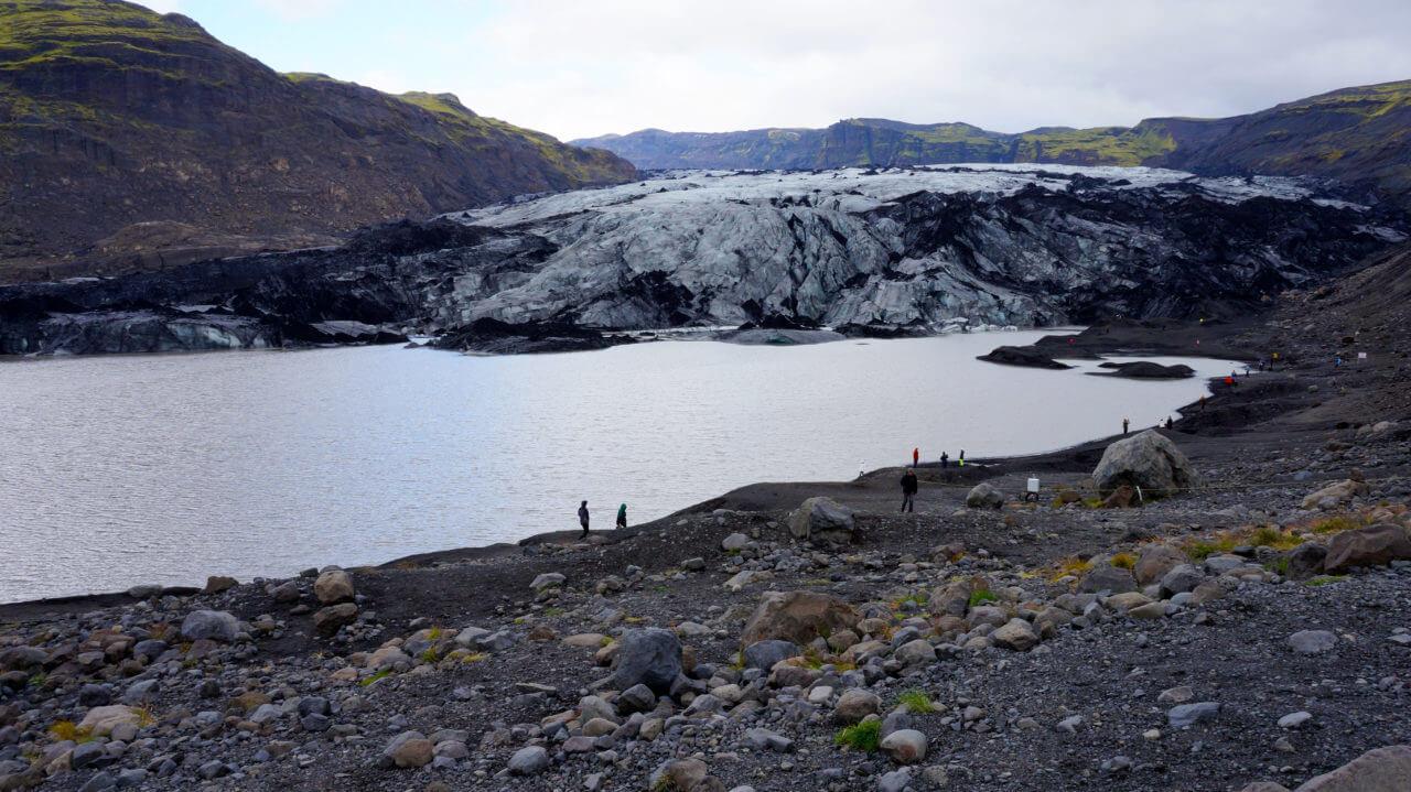 Достопримечательности Исландии: ледник Sólheimajökull