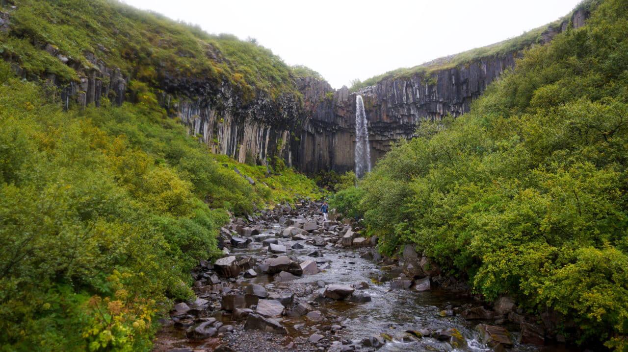 Достопримечательности Исландии: водопад Свартифосс