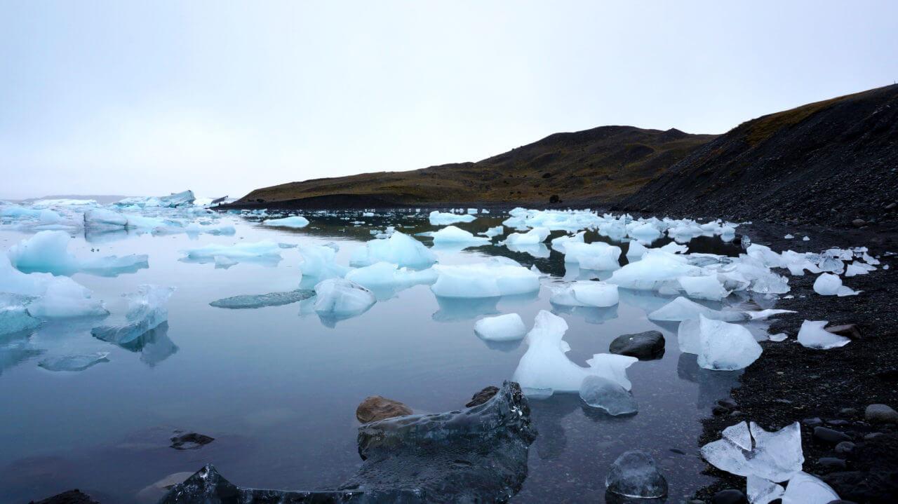 Достопримечательности Исландии: Ледниковая лагуна Jokulsarlon