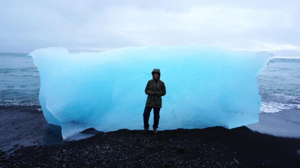 Достопримечательности Исландии: Diamond Beach