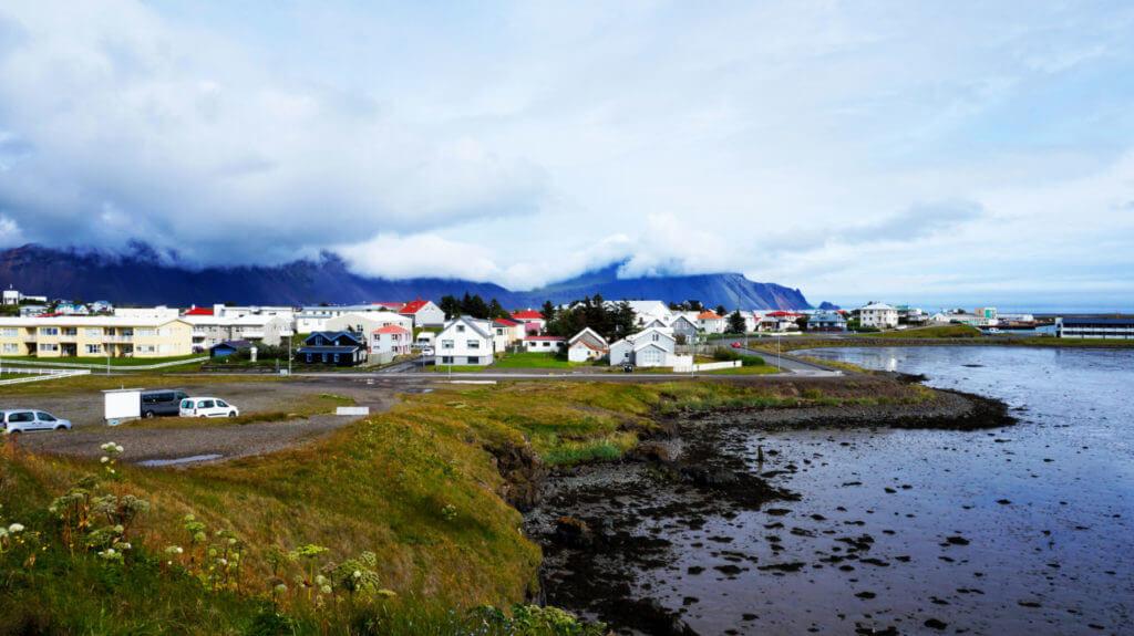 Достопримечательности Исландии: Город Хёбн