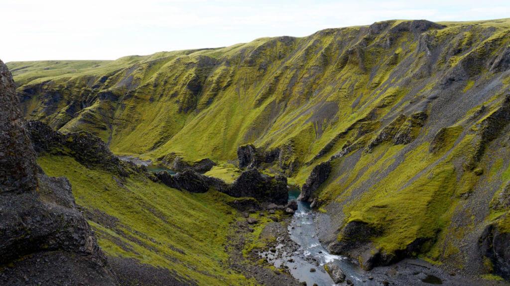 Водопад Fagrifoss Вулкан Лаки Исландия Вулкан Лаки, Исландия Iceland 170 1024x575