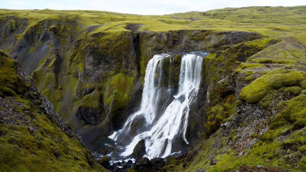Водопад Fagrifoss Вулкан Лаки Исландия Вулкан Лаки, Исландия Iceland 172 1024x575