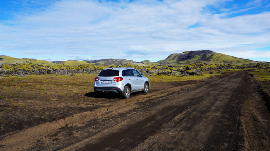 Вулкан Лаки, Исландия: дорога