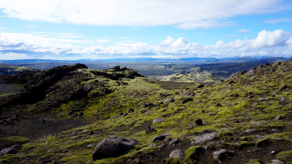 Вулкан Лаки, Исландия: хайкинг