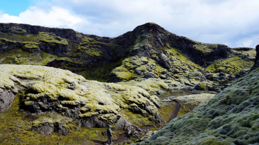 Лавовые поля Eldborgarfarvegur