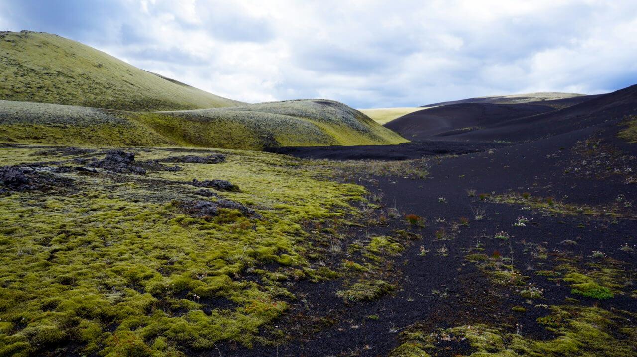 Вулкан Лаки, Исландия: окрестности