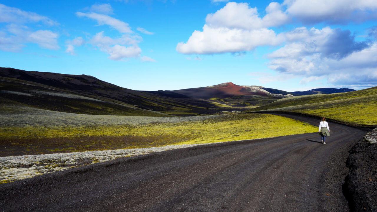 Вулкан Лаки, Исландия: дорога F207