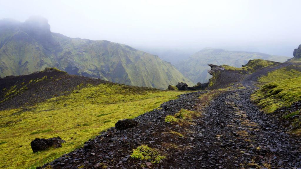 Достопримечательности Исландии: Маршрут к леднику Mýrdalsjökull