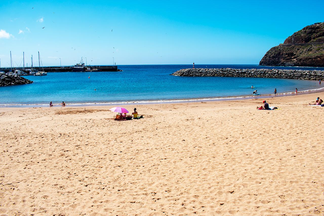Мадейра, Португалия: пляж Машику
