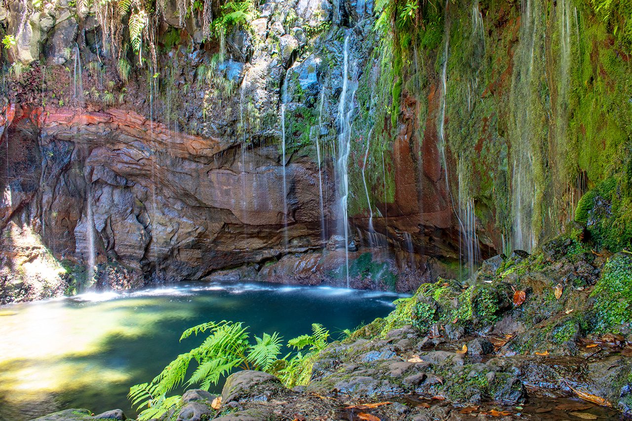 Мадейра, Португалия: водопад 25 Fontes