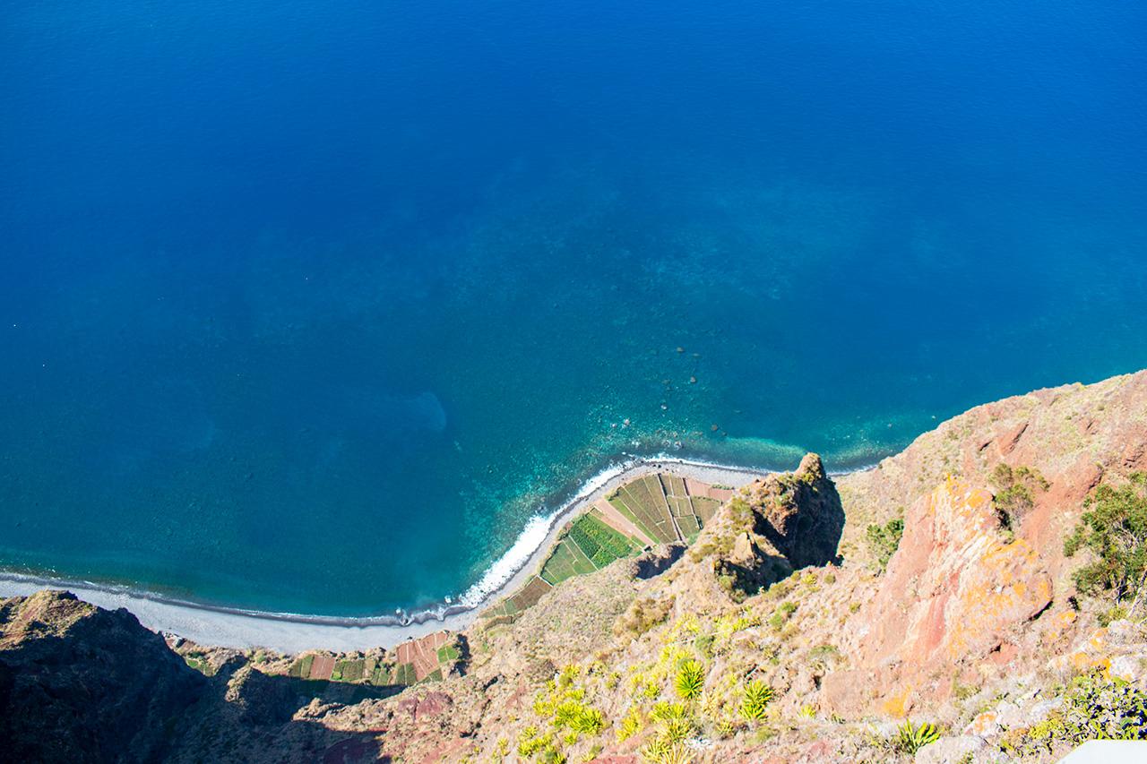 Мадейра, Португалия: мыс Cabo Girao