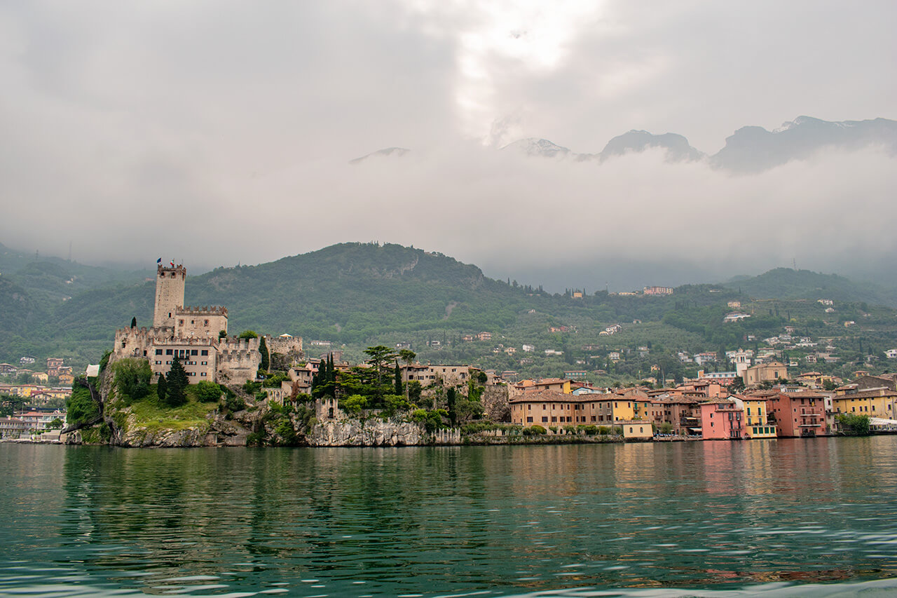 Мальчезине, Италия: замок Скалигеров