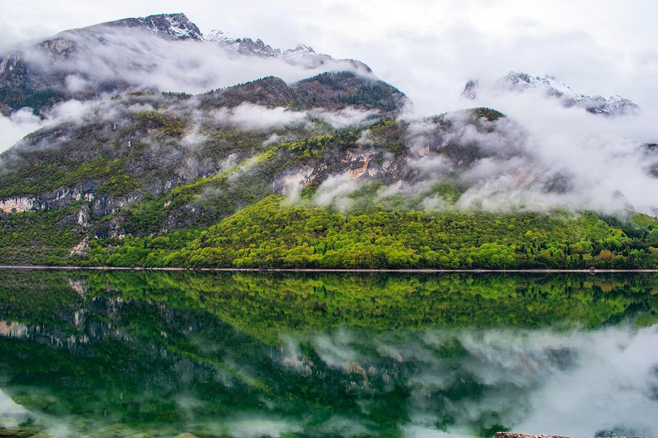 Мольвено, Италия: маршрут вокруг озера