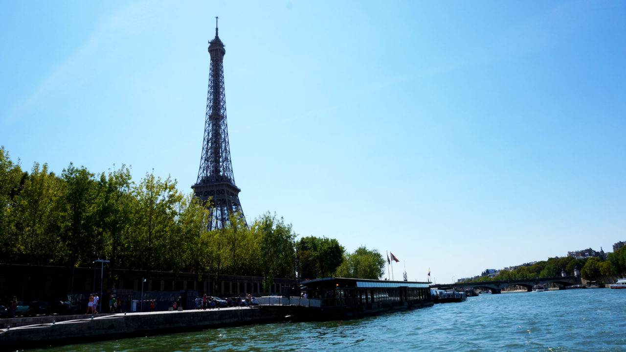 Париж за 2 дня: по Сене на Batobus