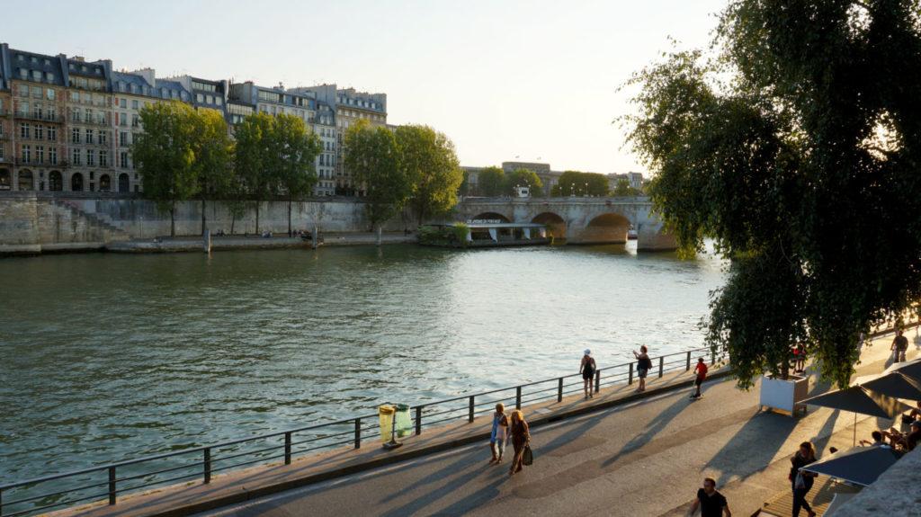 Париж за 2 дня: набережная Сены париж туры париж все об париже что смотреть париж Париж за 2 дня Paris 17 1024x575